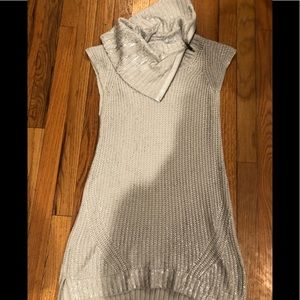 Trouve silver holiday tunic